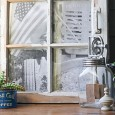 Photo frame with old window