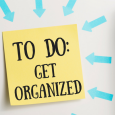 Get organized post on fridge