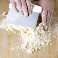 bench scraper mixing dough