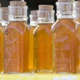 honey in small jars