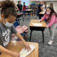 Wellsville elementary students learn about soybeans through KFB's ag kits