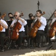 Symphony in the Flint HIlls string players